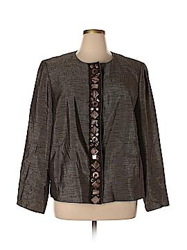 Linda Allard Ellen Tracy Wool Blazer Size 18 (Plus)