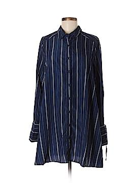 Lulu's Long Sleeve Button-Down Shirt Size M