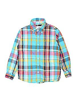 Peek... Long Sleeve Button-Down Shirt Size 8