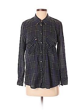 Étoile Isabel Marant Long Sleeve Button-Down Shirt Size Med (2)