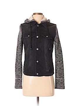 Black Rivet Denim Jacket Size XS