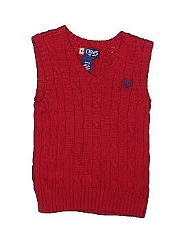 Chaps Sweater Vest Size 4T - 4