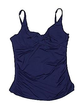 Anne Cole Signature Swimsuit Top Size Lg (38D)