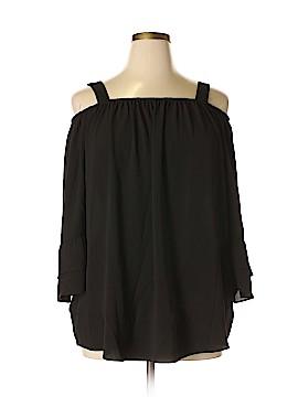 Zac & Rachel 3/4 Sleeve Blouse Size 1X (Plus)