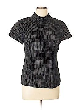 Ann Taylor LOFT Short Sleeve Button-Down Shirt Size 10
