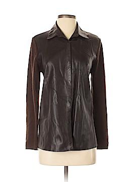 Brunello Cucinelli Leather Top Size M