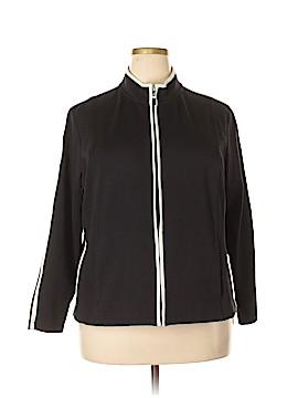 Draper's & Damon's Track Jacket Size 1X (Plus)