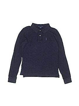 Ralph Lauren Long Sleeve Polo Size X-Small  (Kids)