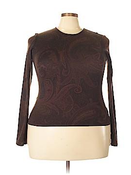 Ralph Lauren Silk Pullover Sweater Size XL