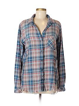 Chelsea & Violet Long Sleeve Button-Down Shirt Size M