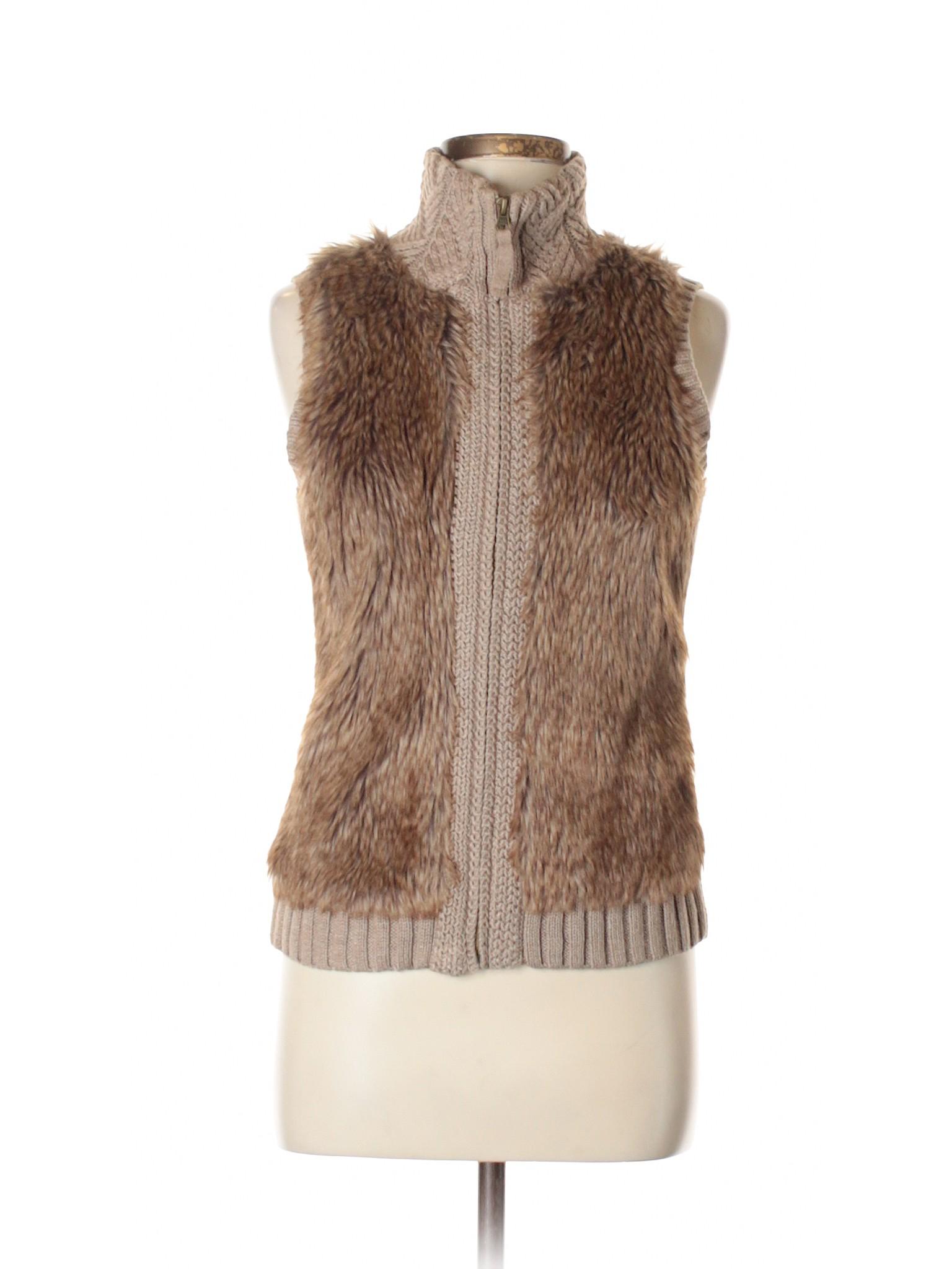 Wright Vest Fur Leisure Manson Fenn winter Faux qA66wEHfY