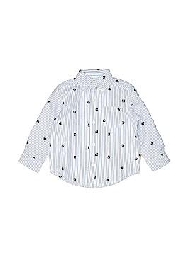 Little Me Long Sleeve Button-Down Shirt Size 18 mo