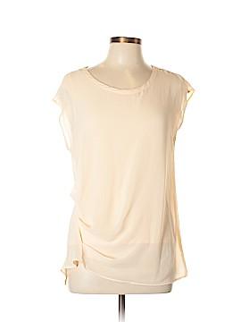 DKNYC Short Sleeve Blouse Size S
