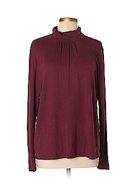 J.jill Long Sleeve Silk Top Size XL