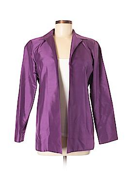 Due Per Due Silk Blazer Size 6