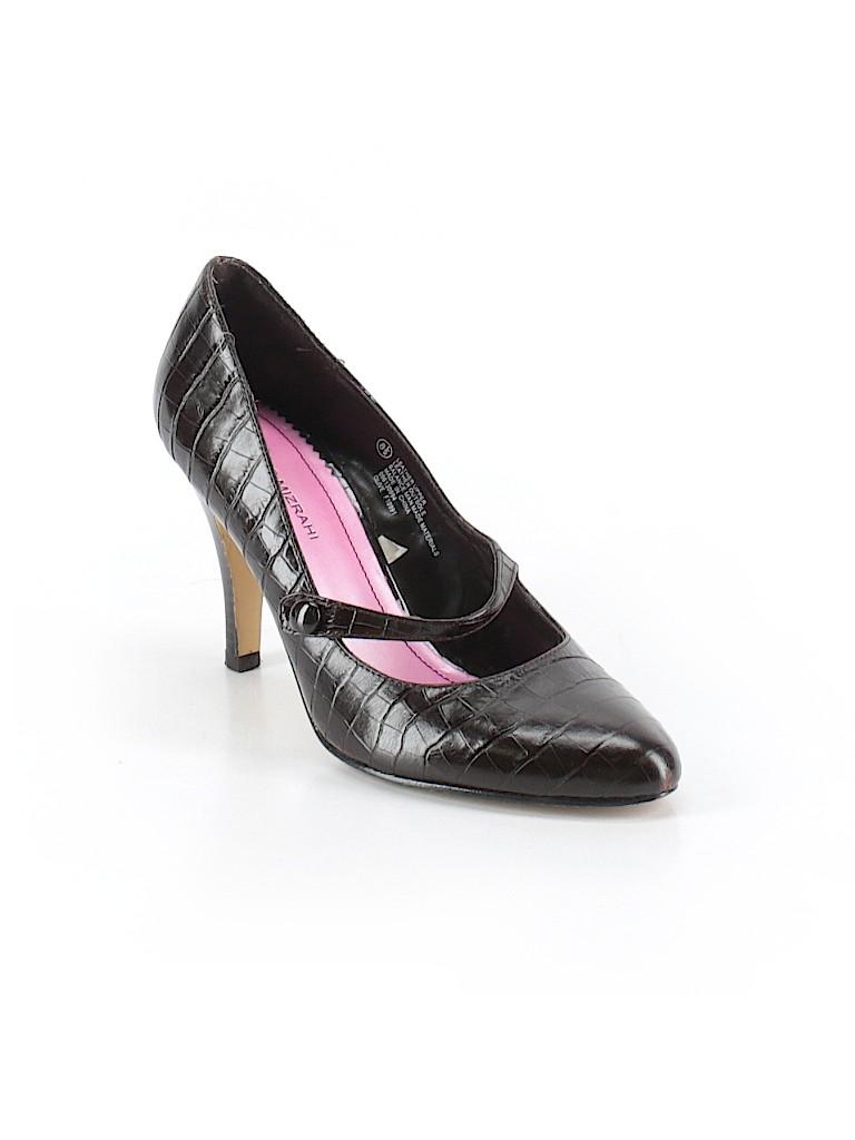 Isaac Mizrahi for Target Animal Print Brown Heels Size 8 1 2 - 95 ... 4fd575f6d