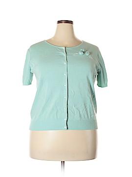 Grace Elements Silk Cardigan Size 1X (Plus)
