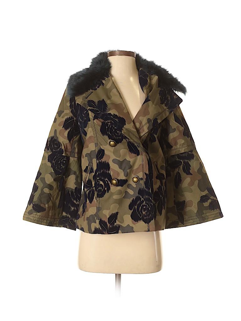 bdd42f3457ecb Banana Republic 100% Nylon Camo Floral Green Jacket Size S - 75% off ...