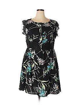 Moon Casual Dress Size 2X (Plus)