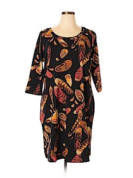 Isaac Mizrahi LIVE! Casual Dress Size 1X (Plus)