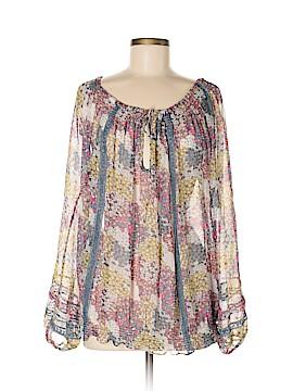 LaROK Long Sleeve Blouse Size M