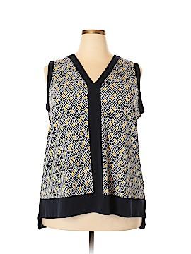 Jones New York Sleeveless Blouse Size 2X (Plus)