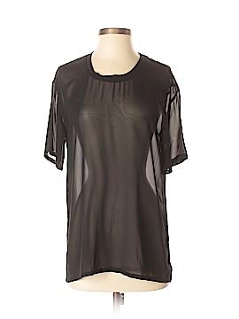BLK DNM Short Sleeve Silk Top Size XS