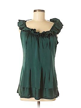 2b Rych Sleeveless Silk Top Size 8