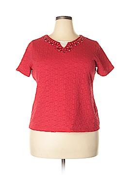 Breckenridge Short Sleeve Top Size 1X (Plus)