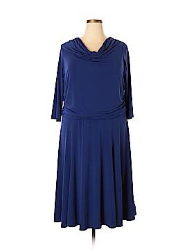 Simonton Says Casual Dress Size 1X (Plus)