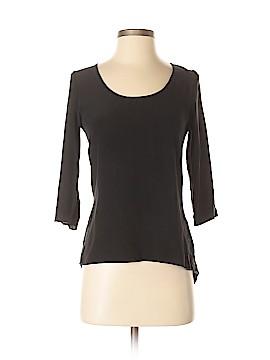 Krisa 3/4 Sleeve Silk Top Size XS