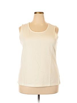 Liz Claiborne Sleeveless Top Size 1X (Plus)
