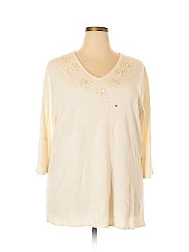 Maggie Barnes Pullover Sweater Size 2X (Plus)
