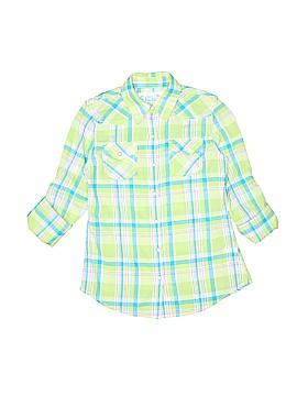Mudd Long Sleeve Button-Down Shirt Size 10 - 12