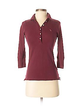 Abercrombie 3/4 Sleeve Polo Size S