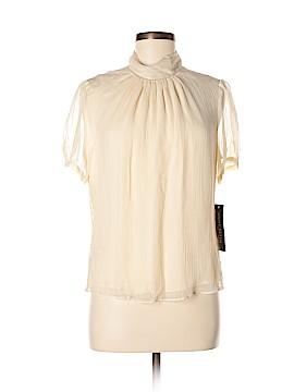 Anne Klein 3/4 Sleeve Silk Top Size 10