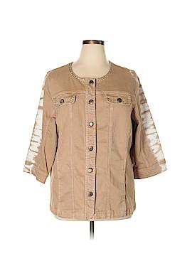 Catherines Denim Jacket Size 1X (Plus)