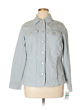 City Chic Denim Jacket Size 0X (Plus)