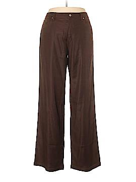 MiracleBody Linen Pants Size 14