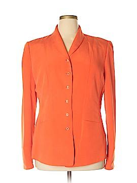 Dana Buchman Silk Blazer Size 16