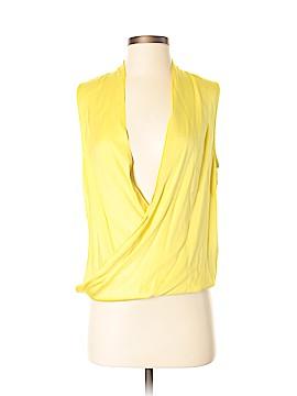 Diane von Furstenberg Sleeveless Silk Top Size 2