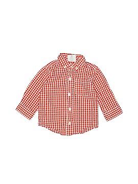 Crazy 8 Long Sleeve Button-Down Shirt Size 12-18 mo