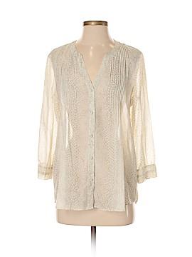 CALVIN KLEIN JEANS 3/4 Sleeve Blouse Size S