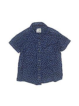 Peek... Short Sleeve Button-Down Shirt Size 8