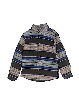 Peek... Long Sleeve Button-Down Shirt Size 6 - 7