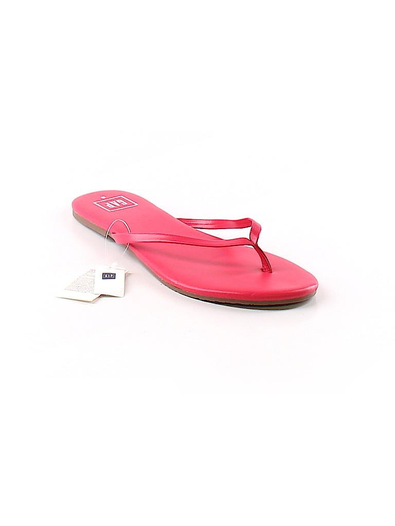 9adad986ed91e Gap Solid Pink Flip Flops Size 8 - 52% off