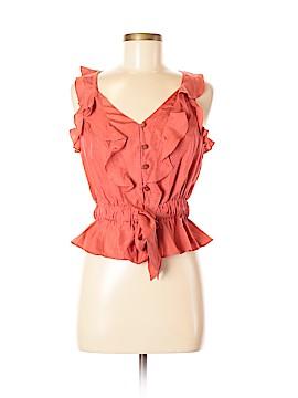 Leifsdottir Sleeveless Silk Top Size 6