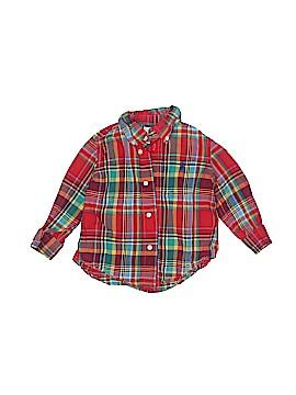 Ralph by Ralph Lauren Long Sleeve Button-Down Shirt Size 12 mo