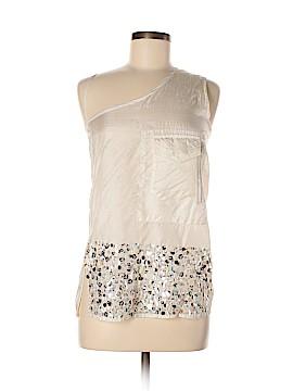 Dosa Sleeveless Silk Top Size Lg (3)
