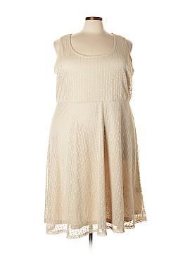 Slinky Brand Casual Dress Size 3X (Plus)